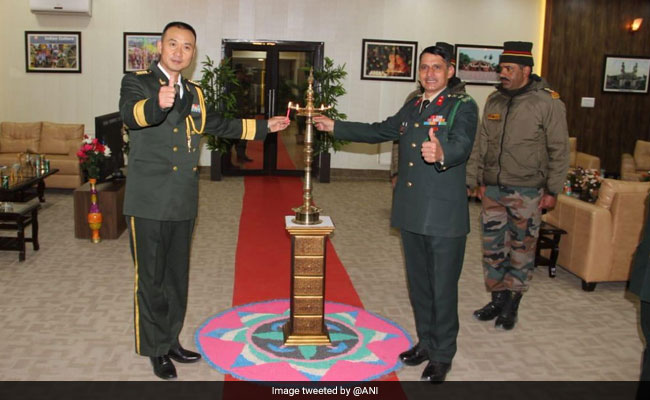 11th round of military talks between India and China, both countries agreed on early resolution of pending issues