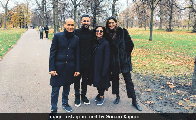 Inside Sonam Kapoor And Anand Ahuja's Fam-Jam In London