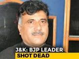 Video: BJP Leader, Brother Shot Dead By Unidentified Gunmen In Jammu And Kashmir