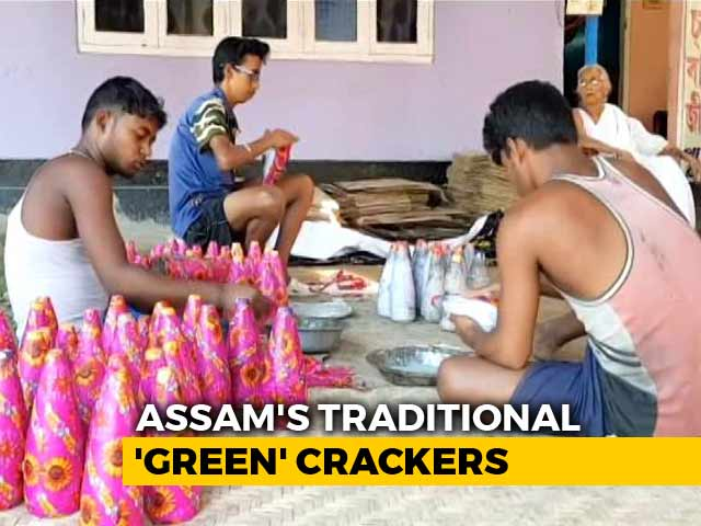"Video : This Village In Assam Has Been Making ""Green Crackers"" For 130 Years"