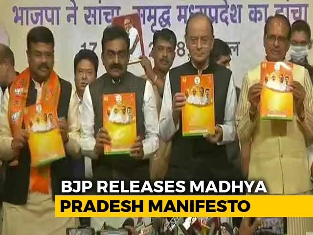 Video : Metro, 'Scooty' For Girls, 10 Lakh Jobs On BJP's Madhya Pradesh Agenda
