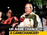 Video : Versus: The Politics Of 'Name Change' In Uttar Pradesh