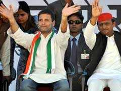 """Thankful"" There's No Alliance With Congress, Says Akhilesh Yadav"