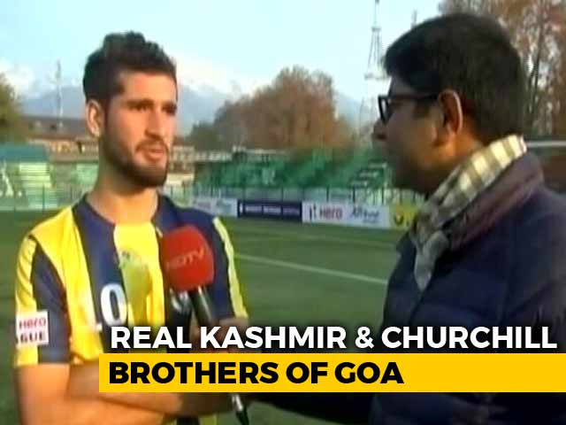 Video : Real Kashmir Play First I-League Match In Srinagar, Held To Goalless Draw By Churchill Brothers