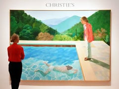David Hockney's Pool Painting Sets Auction Record For Living Artist, Sold In 9 Minutes