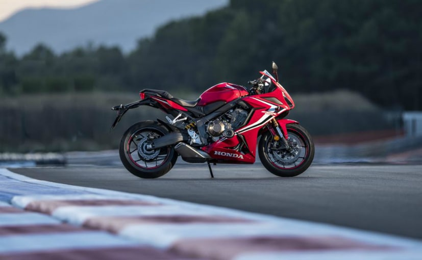 The Honda CBR650R will be the only in-line four-cylinder offering in the sub Rs. 10 lakh space
