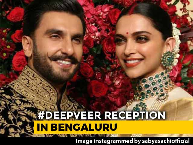 Deepika And Ranveer Were All Smiles At Their Bengaluru Reception