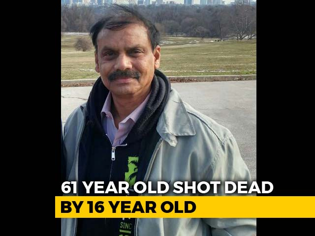 Video : 61-Year-Old Telangana Man Shot Dead By Teen In US