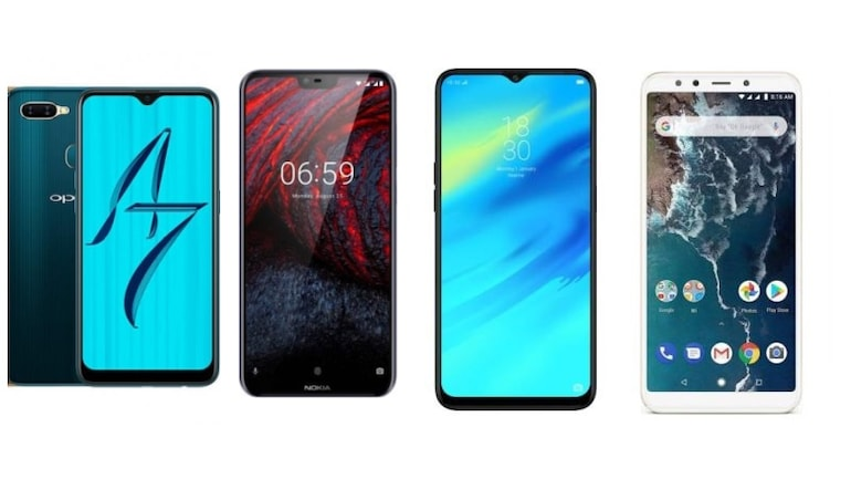 Oppo A7, Nokia 6.1 Plus, Realme 2 Pro और Xiaomi Mi A2 में कौन बेहतर?