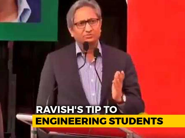 Video : Ravish Kumar's Quip On Fax Machine In J&K Governor's Presence