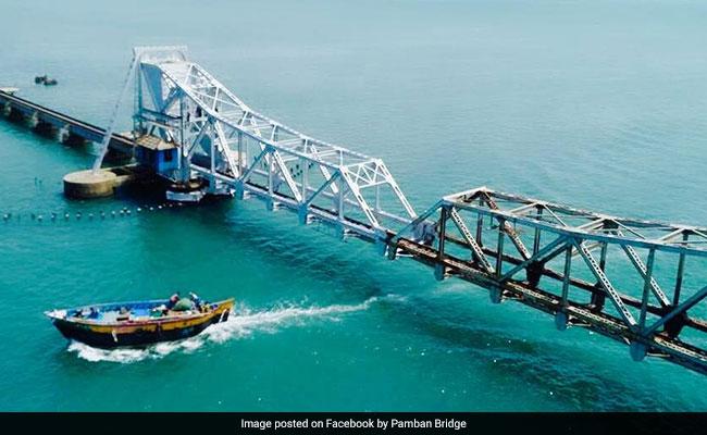 Police Warn Of Bomb Threat To Tamil Nadu's Pamban Bridge