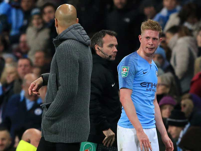 De Bruyne injury concern as City cruise through