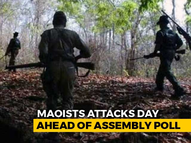 Video : Maoists Trigger 7 Explosions In Chhattisgarh, BSF Soldier Killed