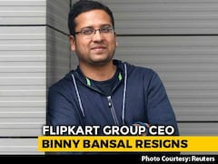 "Video: Flipkart's Binny Bansal Quits As CEO After ""Personal Misconduct"" Probe"
