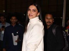 Deepika Padukone And Ranveer Singh Left For Their Wedding Wearing White. Get Deepika's Look