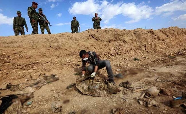 More Than 200 Mass Graves Of ISIS Victims Found In Iraq, Says UN Report