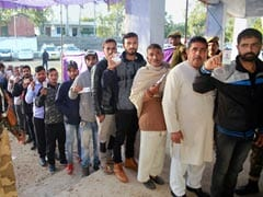 Voting For Sixth Phase Of Panchayat Polls Under Way In Jammu And Kashmir