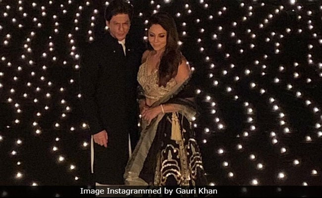 Inside Shah Rukh Khan And Gauri Khan's Star-Studded Diwali Party