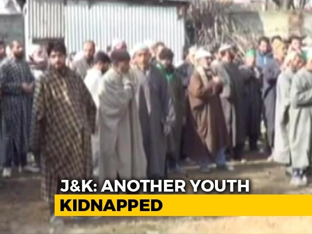 Video : 23-Year-Old Man Kidnapped By Terrorists In Kashmir After 2 Teens Killed