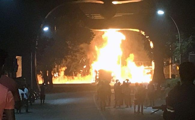 mumbai fire huge fire in mumbai s wadala as tanker bursts into