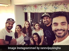This Is What Neha Dhupia And Angad Bedi's Midweek House Party Looks Like