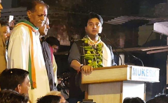 मध्य प्रदेश विधानसभा चुनाव 2018 : ज्योतिरादित्य सिंधिया को है किसकी 'नजर' का डर!