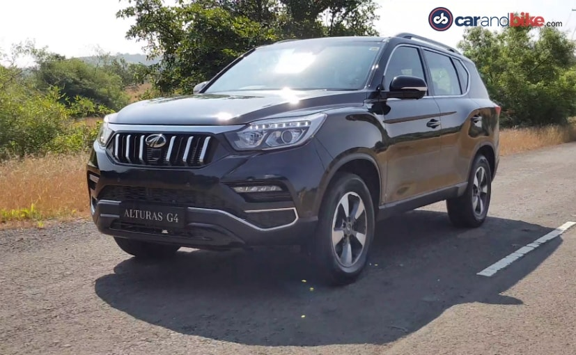 THe Mahindra Alturas G4 is essentially the fourth-generation SsangYong G4 Rexton