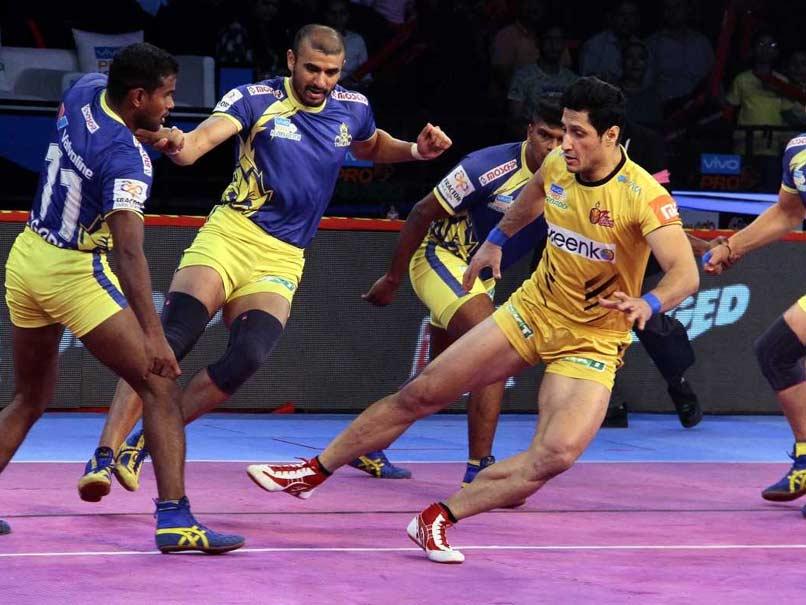 PKL: Tamil Thalaivas Beat Telugu Titans, Dabang Delhi Defeat Gujarat Fortunegiants