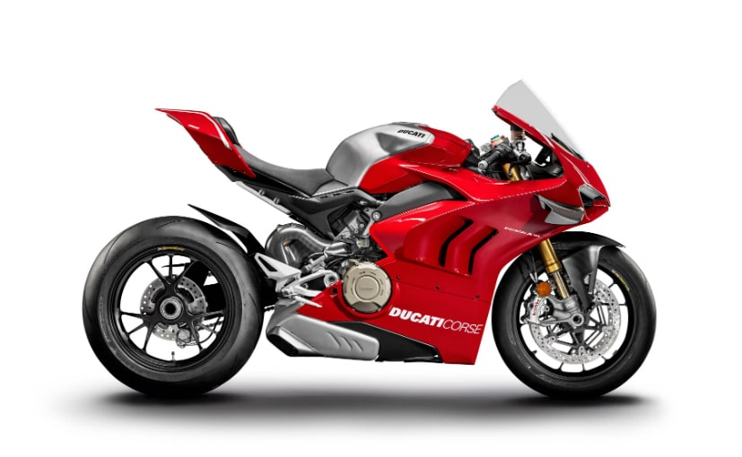 The Ducati Panigale V4 R gets a 998 cc engine which makes 221 bhp