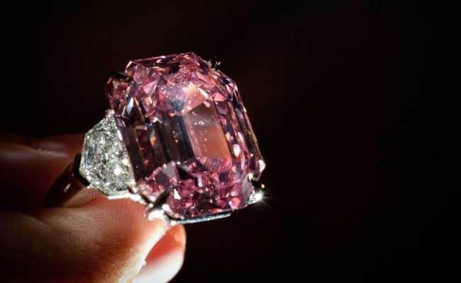 Rare Pink Diamond May Rake In 50 Million In Auction
