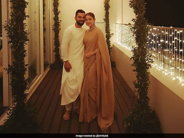 "Virat Kohli Poses With Wife Anushka Sharma, Wishes Fans A Very ""Happy And Prosperous Diwali"""