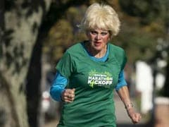 """""""It's An Addiction"""": 85-Year-Old French Woman's Love For Marathons"""