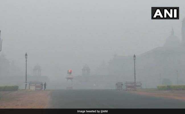 Delhi Air Pollution Highlights: Thick Smog Grapples Delhi After Diwali