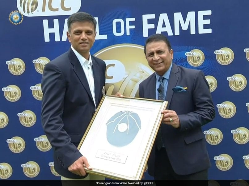 Rahul Dravid Becomes Fifth Indian To Be Inducted Into ICC Hall Of Fame