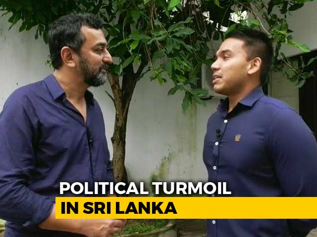 Video : Nothing For India To Worry: Mahinda Rajapaksa's Son Namal On Sri Lanka Crisis