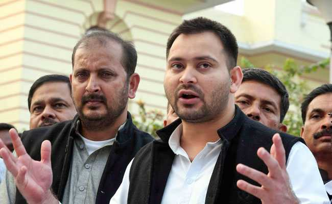 After Criticism Of '7-Star' Bungalow, Tejashwi Yadav's Comeback