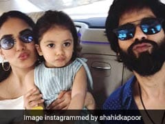 Shahid Kapoor, Mira Rajput And Misha's Selfie Is So, So Adorable