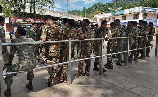 Mobile Phone Jammers Installed Outside Sabarimala Tantri's Office