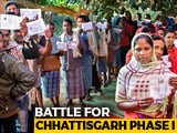 Video : Slow Polling In Round 1 In Chhattisgarh Amid Maoist Threat