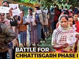 Video: Slow Polling In Round 1 In Chhattisgarh Amid Maoist Threat