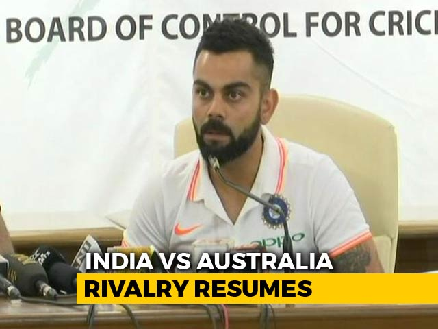 "Video : Virat Kohli Says He Was ""Immature"" To Get Into On-Field Spats"