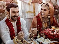 First Wedding Pics Of Deepika Padukone And Ranveer Singh After <I>Band Baaja Baaraat</i> In Italy