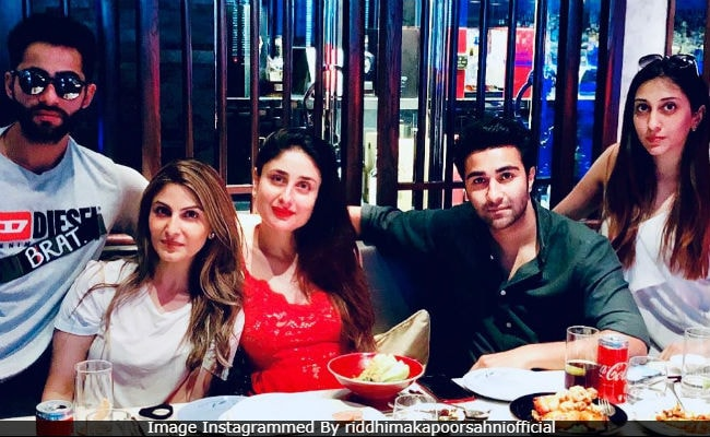 Kapoor Cousins' Day Out: Kareena, Riddhima, Armaan, Aadar. Missing - Karisma, Ranbir And Others