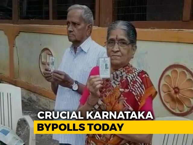 Video : Voting For Crucial By-election In Karnataka Today