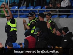 Watch: Shaun Marsh Slams Monstrous Six, Security Officer Catches It In Stands But Tumbles Over
