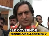 "Video : ""Emperor, Empress"" Haven't Talked To A Single Lawmaker: Sajad Lone's Dig"