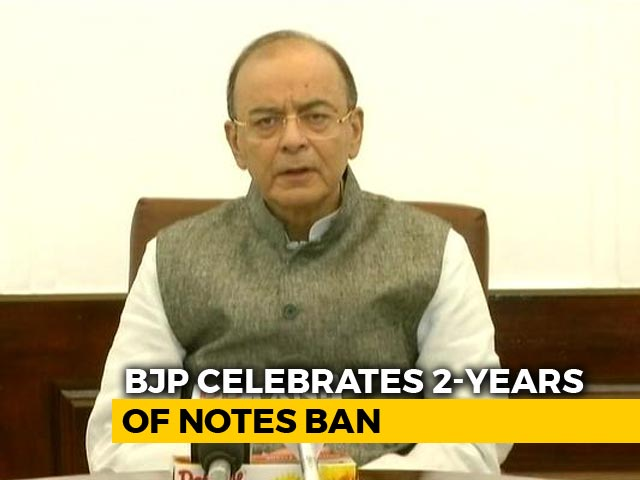 "Video : Arun Jaitley's ""Prophets of Doom"" Dig At Opposition Over Notes Ban"
