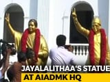 Video : J Jayalalithaa's New Statue Replaces The One That Barely Looked Like Her