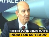 "Video : ""We Chose Ambani By Ourselves, I Don't Lie"": Dassault CEO On Rafale Deal"