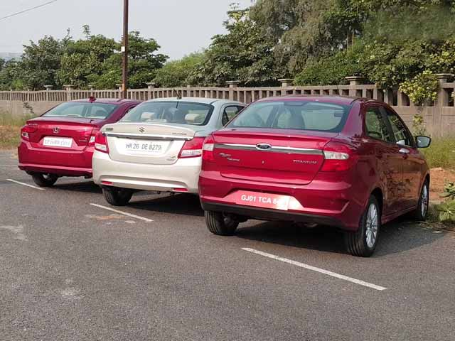 Which Car Should I Buy? - Honda Amaze vs MS Dzire vs Ford Aspire